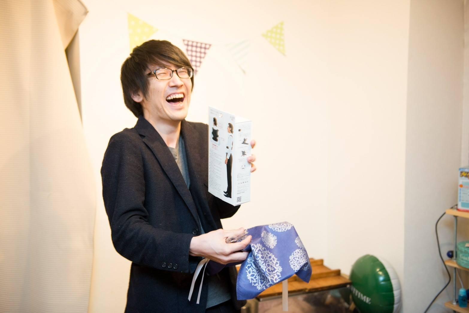 山本さんが購入予定のマンションの壁面にお名前掲示(個人)