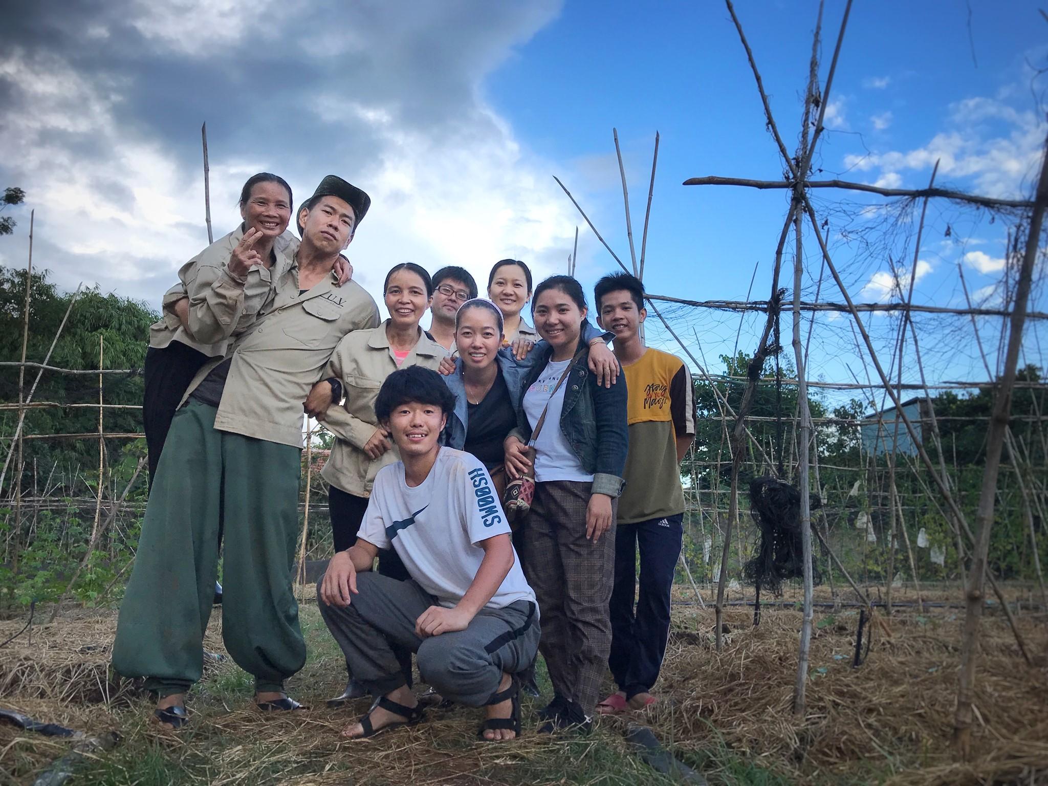 本気でベトナムの農場で働きたい人。